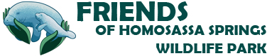 Friends of Homosassa Springs Wildlife Park Retina Logo